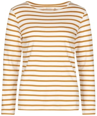 Women's Seasalt Sailor Shirt - Breton Ecru Spice
