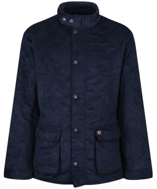 Men's Alan Paine Felwell Quilted Jacket - Navy