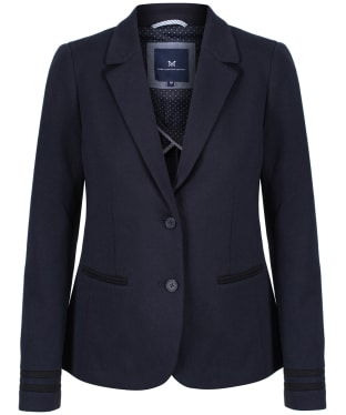 Women's Crew Clothing Pavillion Jersey Blazer - Dark Navy
