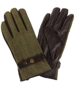 Men's Schoffel Tweed Gloves - Sandringham Tweed