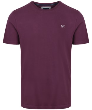 Men's Crew Clothing Classic Tee - Washed Plum