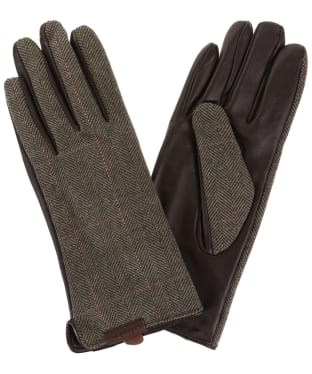 Women's Schoffel Tweed Gloves - Cavell Tweed