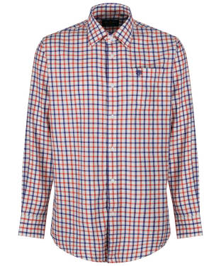 Men's Alan Paine Ilkley Shirt - Russet Check