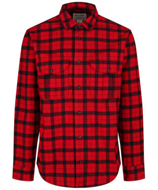 Men's Filson Alaskan Guide Shirt - Red / Black Plaid