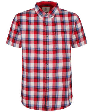 Men's Aigle Precy Check Shirt - Cherry Check