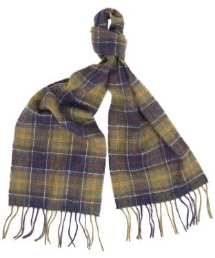 Barbour Kids 'The Snowman™' Luke Tartan Scarf - Barbour Classic