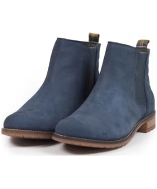 Women's Barbour Abigail Chelsea Boot - Steel Blue