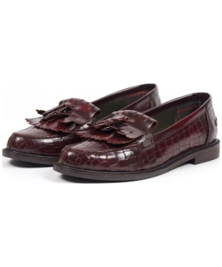 Women's Barbour Olivia Loafers - Bordeaux