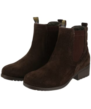 Women's Barbour Rimini Chelsea Boots - Brown Suede
