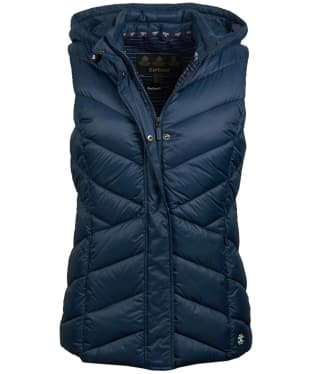 Women's Barbour Seaward Quilted Gilet - Navy