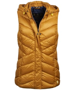 Women's Barbour Seaward Quilted Gilet - Canary Yellow