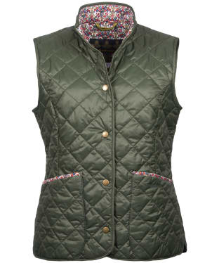 Women's Barbour Liberty Camila Gilet - Olive