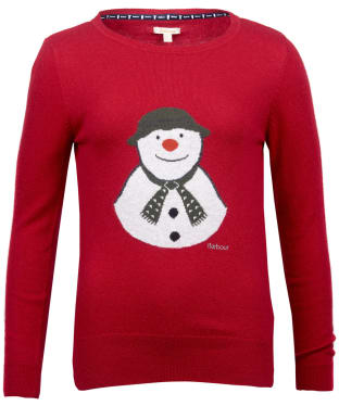 Women's Barbour 'The Snowman™' Highland Knitted Sweater
