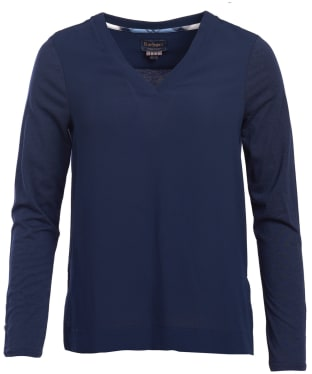 Women's Barbour Globe Top - Navy