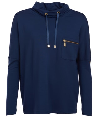Women's Barbour International Byway Sweat - Royal Navy