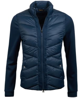 Women's Barbour Hirsel Sweater Jacket - Navy