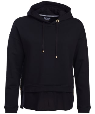 Women's Barbour International Burnett Hooded Sweatshirt