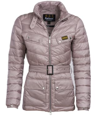 Women's Barbour International Gleann Quilt - Amethyst