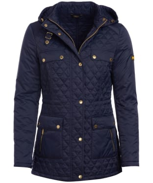 Women's Barbour International Penhal Quilted Jacket - Navy