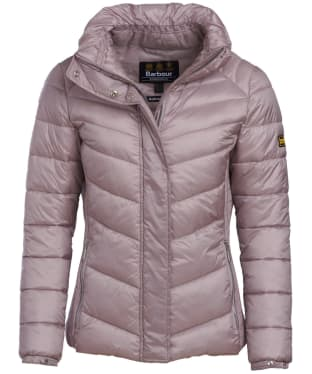 Women's Barbour International Camier Quilted Jacket - Amethyst