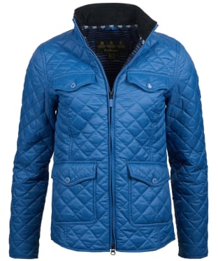 Women's Barbour Sailboat Quilted Jacket - Loch Blue