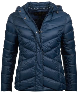 Women's Barbour Seaward Quilted Jacket - Navy