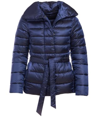 Women's Barbour Endrick Quilted Jacket - Royal Navy