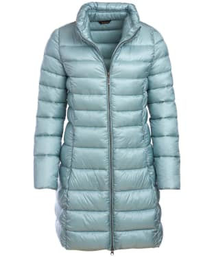 Women's Barbour Ervine Quilted Jacket - Light Aqua