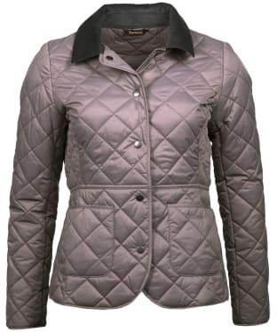 Women's Barbour x Sam Heughan Deveron Quilted Jacket - Zinc