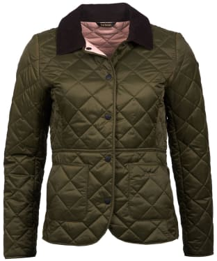 Women's Barbour Deveron Quilted Jacket - Olive