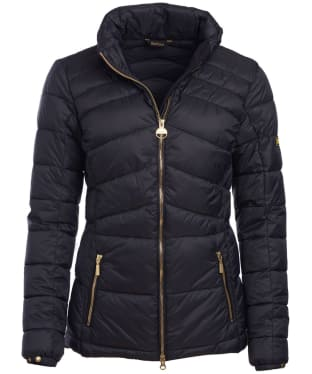 Women's Barbour International League Quilted Jacket - Black