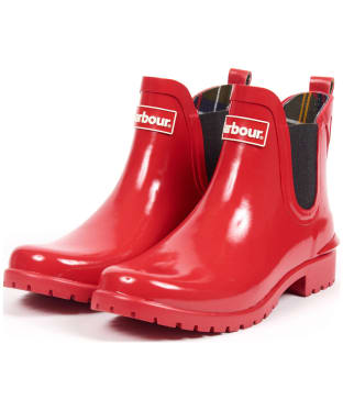 Women's Barbour Wilton Welly - Coastal Red