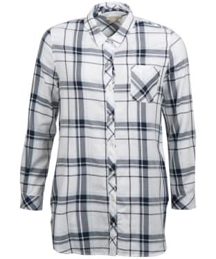 Women's Barbour Fairway Shirt - White / Navy