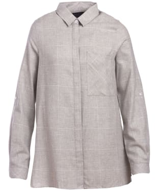 Women's Barbour Carron Shirt - Grey / White