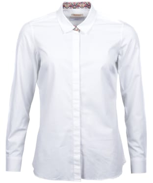 Women's Barbour Liberty Hyde Shirt - White