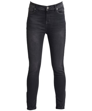 Women's Barbour International Durant Cropped Jeans - Grey