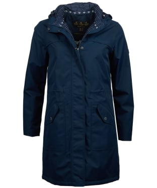 Women's Barbour Seafield Waterproof Jacket - Navy