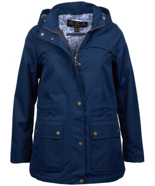Women's Barbour Liberty Camden Waterproof Jacket - Navy