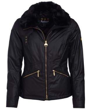 Women's Barbour International Croft Waxed Jacket