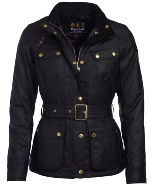 Women's Barbour International Oulton Waxed Jacket