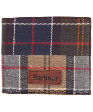 Men's Barbour Mixed Tartan Billfold Wallet - Mixed Tartan