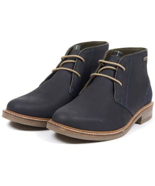 Men's Barbour Readhead Chukka Boots - Navy 4