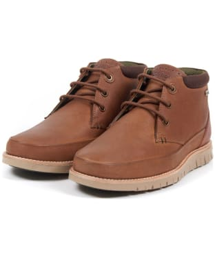 Men's Barbour Nelson Chukka Boots - New Cognac
