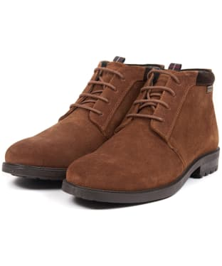 Men's Barbour Kielder Chukka Boots - Brown
