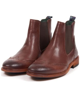Men's Barbour Raunds Chelsea Boots - Chocolate