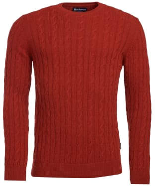 Men's Barbour Sanda Crew Knit - Iron Ore