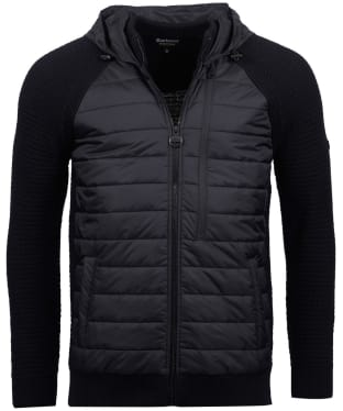 Men's Barbour International Hooded Sweater Jacket