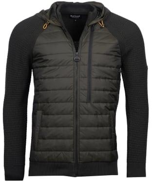 Men's Barbour International Hooded Sweater Jacket