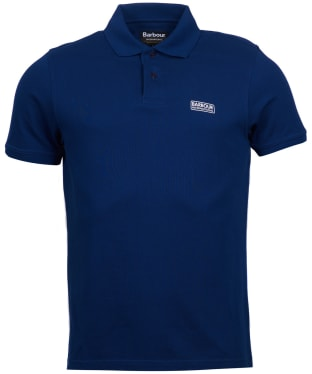 Men's Barbour International Essential Polo - Inky Blue