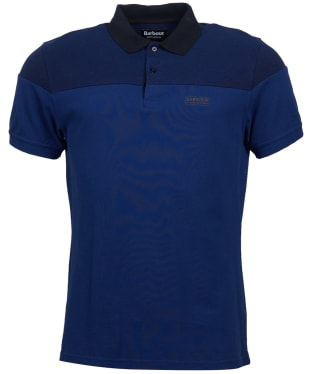 Men's Barbour International Curve Polo Shirt - Inky Blue